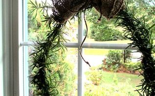 make a fresh rosemary wreath, crafts, home decor, seasonal holiday decor, wreaths