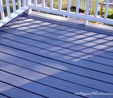 we finally stained our deck, decks, outdoor living, painting, stained deck