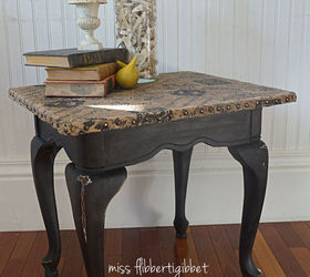 Superb Making A Waterproof Burlap Topped Table, Crafts, Painted Furniture