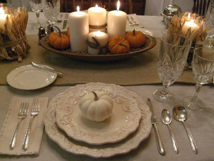 Thanksgiving Tablescape In Cream With Natural Elements Home Decor Seasonal Holiday Decor Thanksgiving