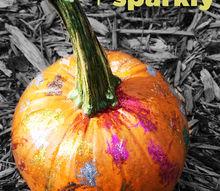 no carve pumpkin painting idea kids, crafts, halloween decorations, seasonal holiday decor