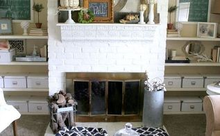 fall mantel decoration ideas, fireplaces mantels, home decor