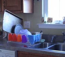 q do you keep your dish drainer out at all times if not what works for you, cleaning tips, kitchen design, ugly dish rack