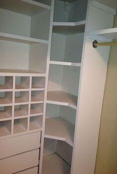 closet storage system, closet, shelving ideas, storage ideas