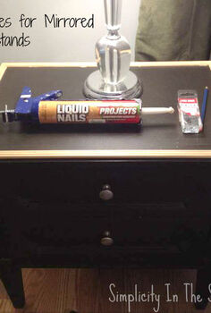 how a little diy turned my so so nightstands into so spectacular, painted furniture