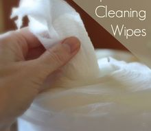 how to homemake disposable cleaning wipes, cleaning tips