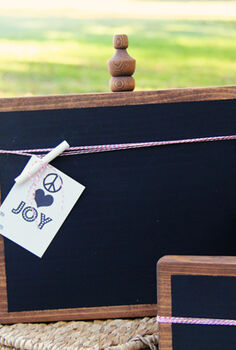 diy christmas gift 5 chalkboards, chalkboard paint, crafts, DIY Christmas Gift