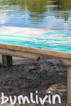 pallet wood coffee table the wave, pallet, repurposing upcycling, woodworking projects, Pallet Wood Coffee Table The Wave