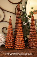 oh how i love these christmas trees i ve made over the years with pine cones, christmas decorations, crafts, repurposing upcycling, seasonal holiday decor