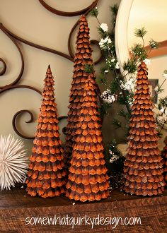 17 amazing pine cone decorating ideas Idea Box by Kathy #0: oh how i love these christmas trees i ve made over the years with pine cones christmas decorations crafts repurposing upcycling 1 size=236x350&nocrop=1