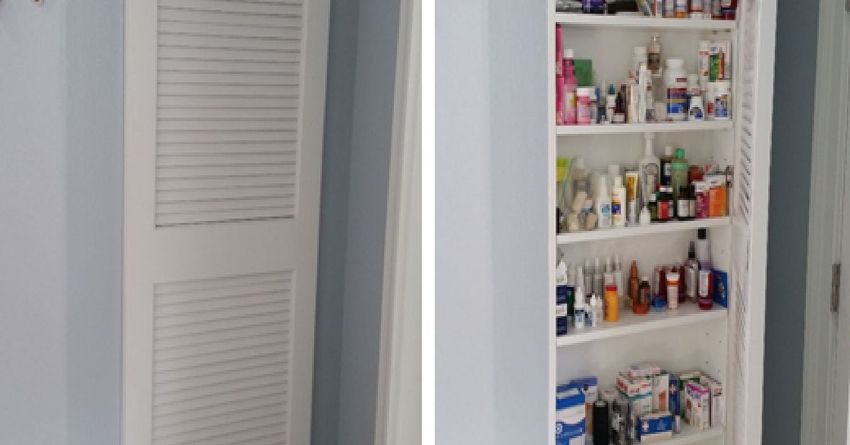 Full Size Medicine Cabinet Storage Idea Hometalk