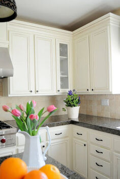 how to heighten the tops of your kitchen cabinets, kitchen cabinets, kitchen design, woodworking projects
