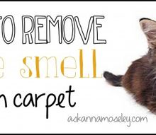 how to remove urine smell from carpet, cleaning tips, flooring