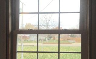 unfinished window frames tips, This isn t the best photo that you can see the unfinished pine around the window