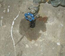 q leaking water main pipe is in concrete floor and we have no clue, home maintenance repairs, how to, plumbing