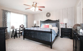 master bedroom makeover, bedroom ideas, home decor