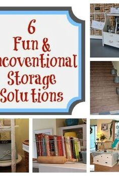 6 fun amp unconventional storage solutions, cleaning tips, storage ideas, Think outside of the box