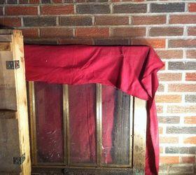 Need Help Closing Off Fireplace | Hometalk