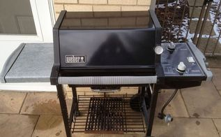 cast iron grill grates season with crisco to stop rust and sticking food, cleaning tips, This grill is 10 years old sure it s a bit used but it still works