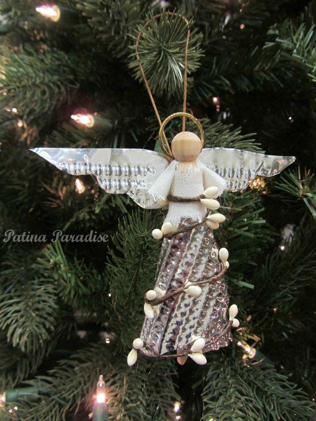 How to make a christmas angel ornament hometalk for Angel christmas decoration