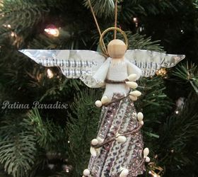Superior Christmas Angel Ornaments To Make Part - 9: How To Make A Christmas Angel Ornament, Christmas Decorations, Crafts,  Seasonal Holiday Decor