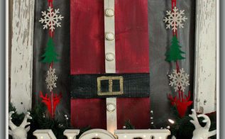 how to make scrap wood and pallet wood christmas art, crafts, pallet