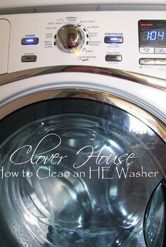 cleaning your he washer with household products, appliances, cleaning tips, I m sold on the household products no more wasting money for us