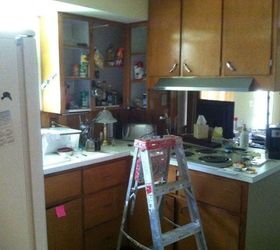 Simple Inexpensive Updates to 1950s Kitchen Hometalk