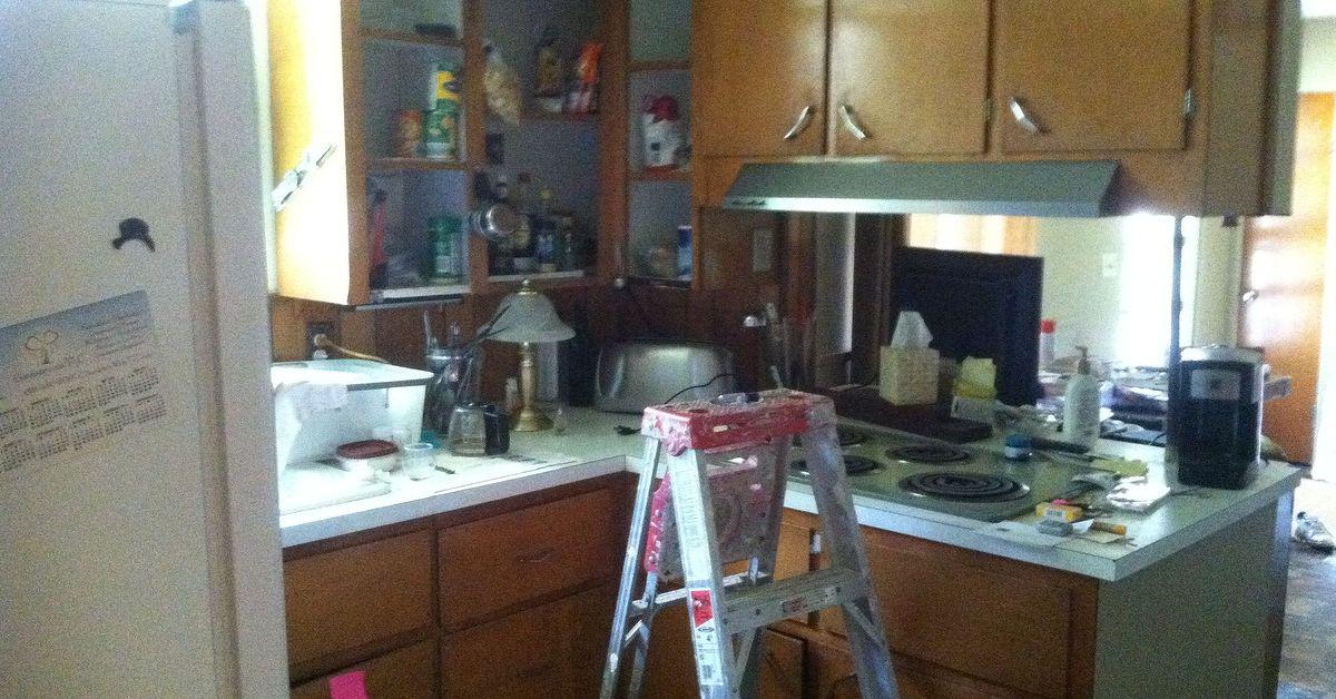 simple inexpensive updates to 1950s kitchen home improvement kitchen