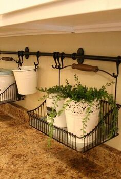keeping the clutter off the counter, cleaning tips, kitchen design, Decorative accessories keep it functional and pretty