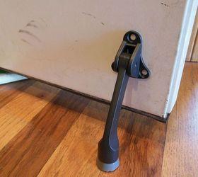 add a door stop to your interior garage door doors garage doors