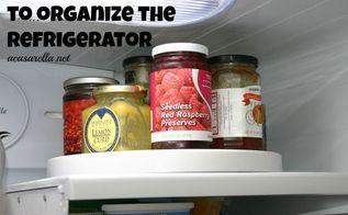 my organizing secret lazy susans, organizing, Lazy Susan in the fridge
