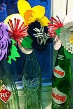 i m bottle necking 20 amazing bottle inspired ideas from hometalkers, crafts, flowers, repurposing upcycling, I saw an old Coke bottle and I smiled