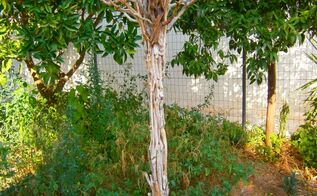 how to make driftwood hand made trees, how to, seasonal holiday decor