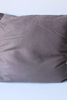 diy pillow with my dad s vintage military blanket, christmas decorations, craft rooms, repurposing upcycling, seasonal holiday decor