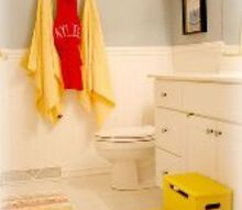 kids bathroom makeover, bathroom ideas, home decor