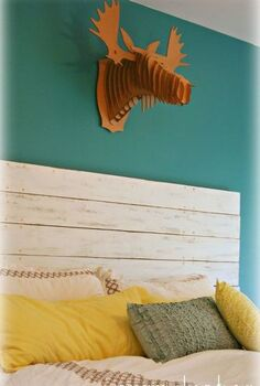 repurposed wood headboard, home decor, repurposing upcycling, shabby chic