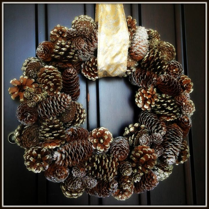 Hanging A Wreath Without Drilling Holes Hometalk