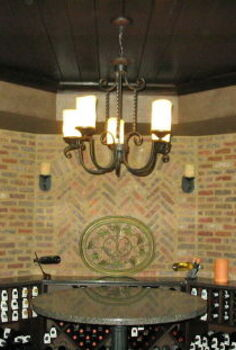 the wine lovers man cave classy, basement ideas, entertainment rec rooms, home decor, Read more about this project here ManCave