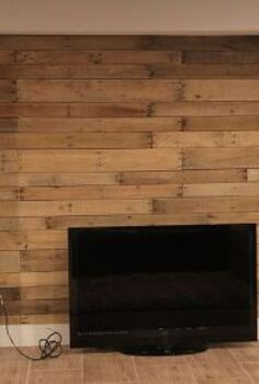 d i y pallet wall, diy, how to, repurposing upcycling, wall decor, woodworking projects