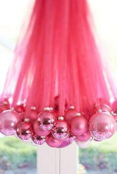 diy christmas chandelier, christmas decorations, crafts, lighting, repurposing upcycling, seasonal holiday decor