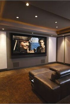 how to turn your garage into a home theater, entertainment rec rooms, garages, home decor, If you want to do something WAY cooler you can opt to make a permanent home theater