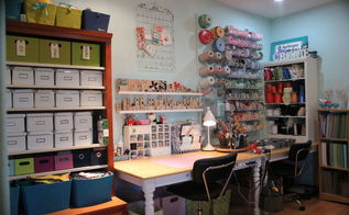 organizing your craft room with ikea stuff, craft rooms, crafts, organizing, storage ideas