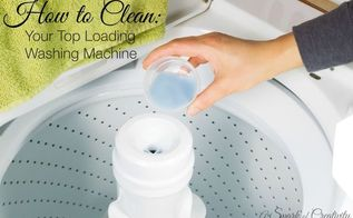 how to clean your top loading washing machine, appliances, cleaning tips, how to