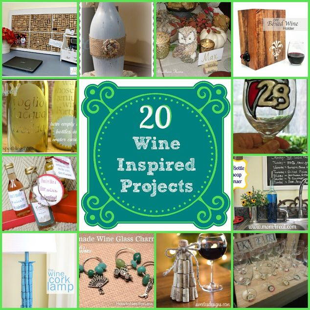 20 wine inspired projects hometalk for Paint and wine lexington ky