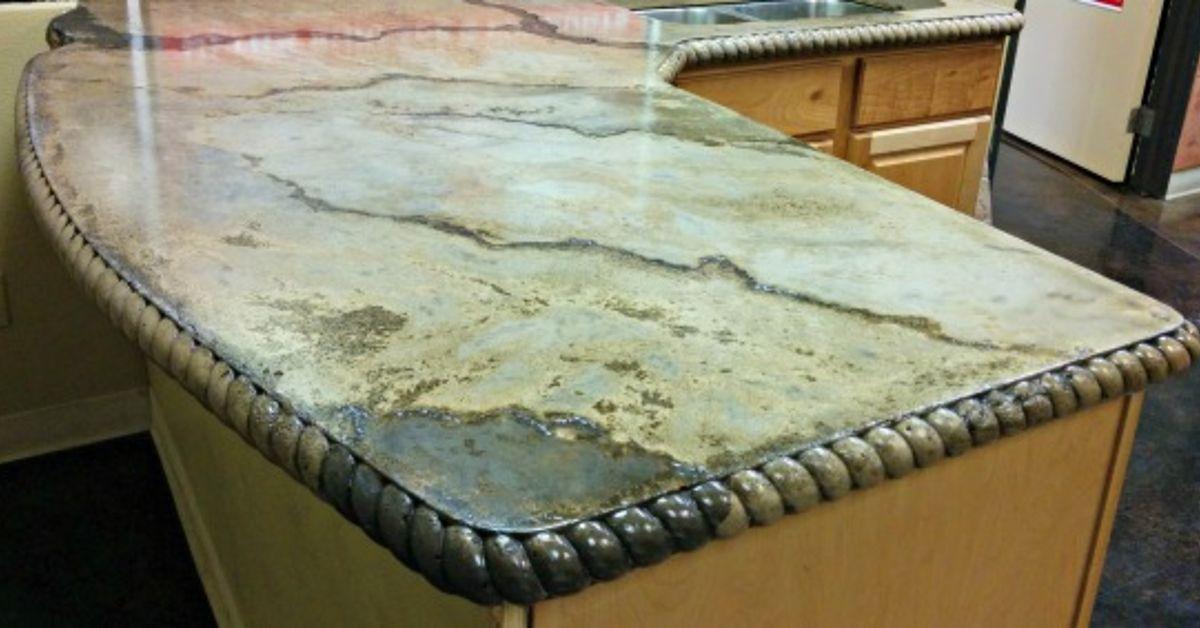 Amazing DIY Concrete Countertops