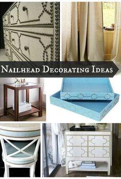 nailhead decorating trends, home decor
