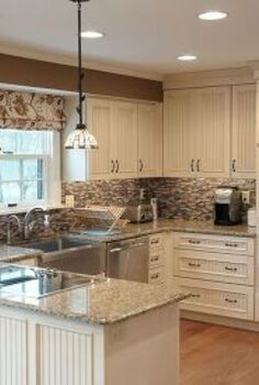 kitchen remodel with beaded panel door, fireplaces mantels, home decor, home improvement, kitchen design