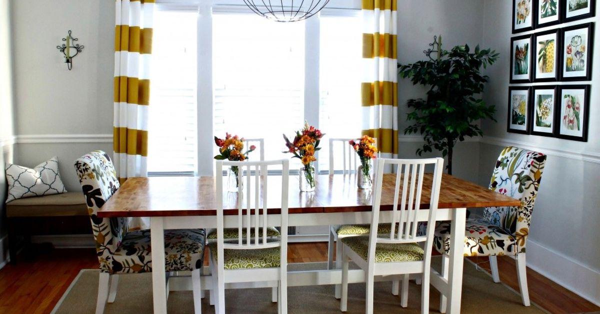 Ikea hack dining room