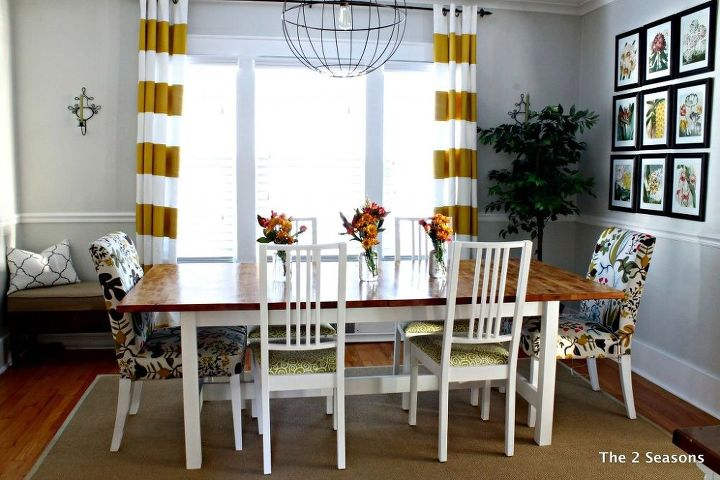 ikea dining table hack dining room ideas painted furniture woodworking projects - Ikea Dining Room Ideas